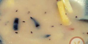 कच्चे आम औरआटे की रेस्पी Kachche Aaam or aate Khatti Mithi Recipe