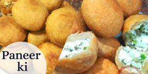 पनीर की लिट्टी – (Paneer ki Litti Recipe In Hindi)