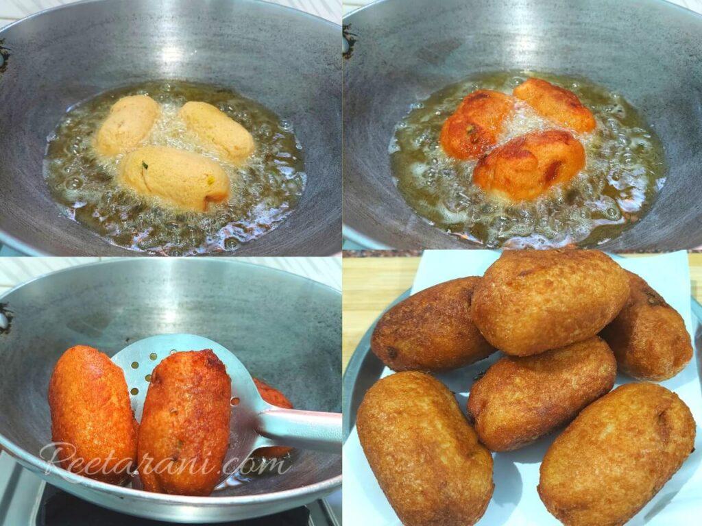 Potato bread cutlet