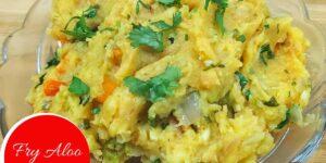 Fry Aloo Chokha Recipe