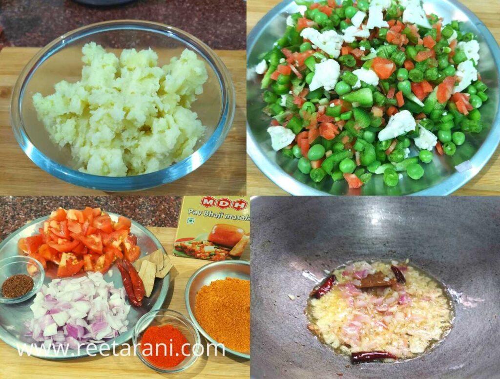 How To Make Mumbai Pav Bhaji At Home