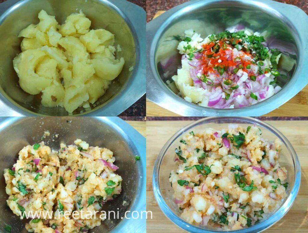 How To Make Pani Puri Aloo Masala Recipe