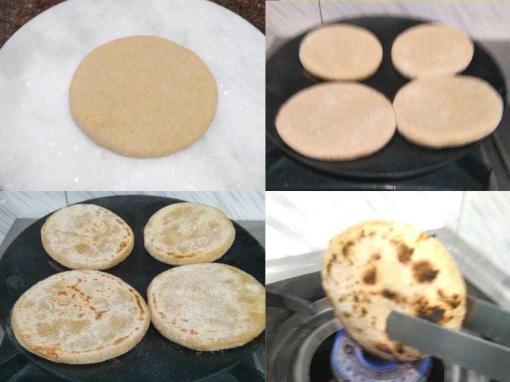 how to make litti on tawa