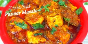 Paneer Masala Dhaba Style